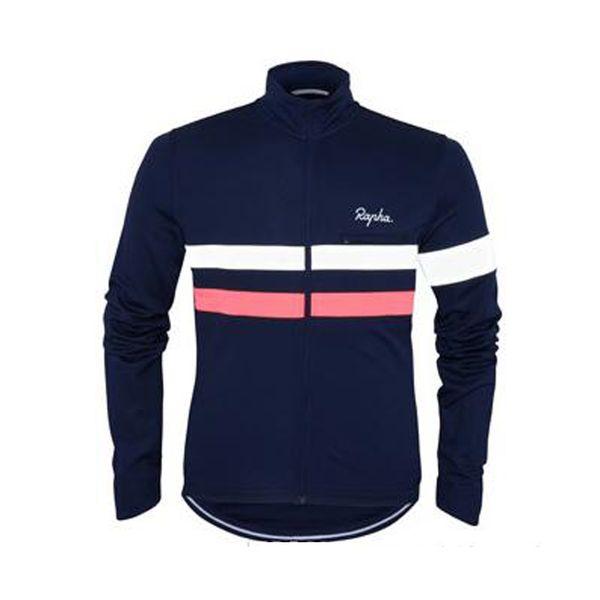 Rapha equipe ciclismo jersey tops mens manga comprida bicicleta camisas mountain bike roupas roupas esportes ao ar livre q70910
