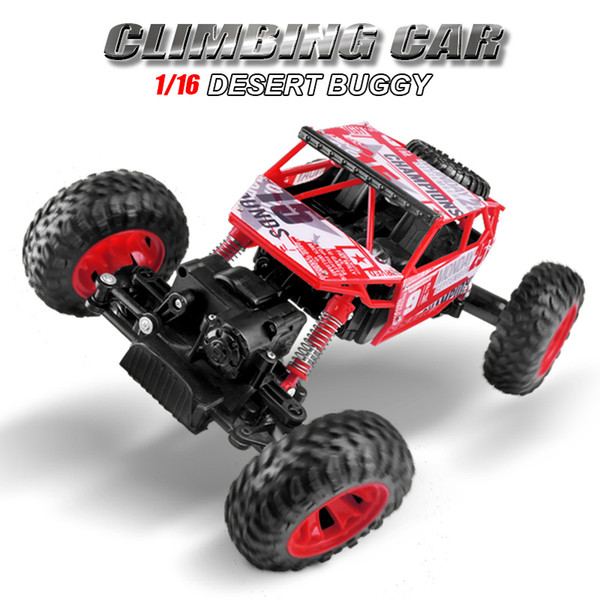 1 :16 Rc Car 4wd Drift Highspeed Climbing Rc Remote Control Cars Four -Wheel Drive Rc Deformation Racing Model