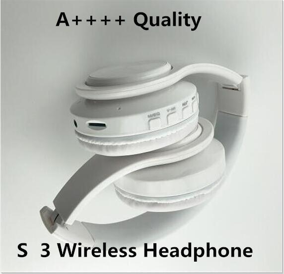 top popular 3.0 Wireless Headphone Stereo Bluetooth Headsets earbuds with Mic Earphone Support TF Card For iPhone Samsung Wholesale 2020