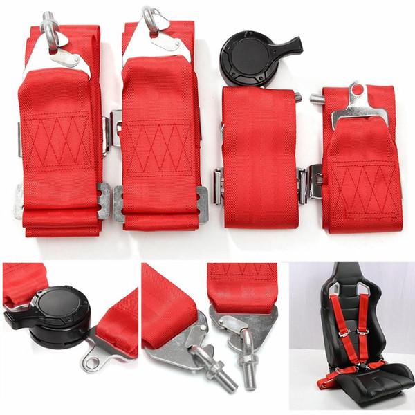 4-Punkt-Racing-Sicherheitsgurt-Gurt mit Camlock-Auto-Sicherheits-Bügel Verstellbare Universal Fahrzeug Racing-Sicherheits-Sicherheitsgurt