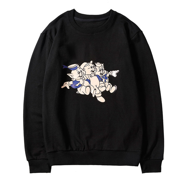 best selling 100% cotton Designer Sweatshirts Long Sleeve T Shirts For Men black Hoodie fashion Brand Top Hoodies Autumn Spring luxury clothing Sweater