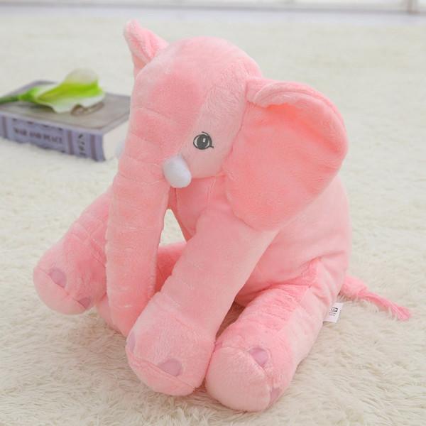 Hot 40 cm colorato elefante gigante farcito animale giocattolo decorazioni per la casa forma animale cuscino giocattoli per bambini