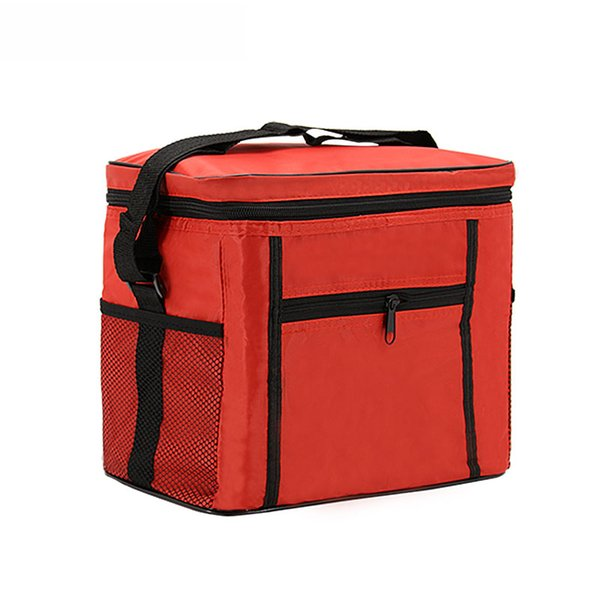 Cooler Bag Folding Insulation Large Portable Ice Waterproof Lunch Leisure Picnic Packet Bento Box Thermal Bag Totebag