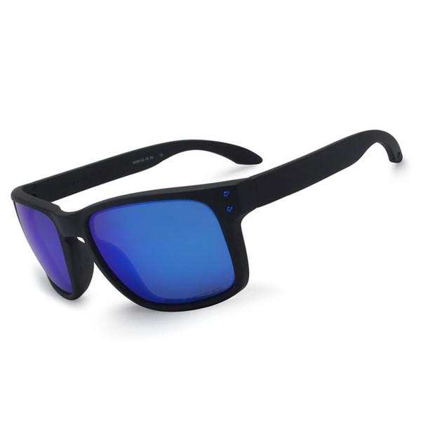 Matte black blue and blue