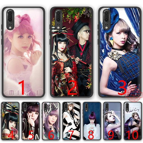 GARNiDELiA Soft Silicone Black TPU Phone Case for Huawei P8 P9 P10 P20 Lite Pro P Smart Cover