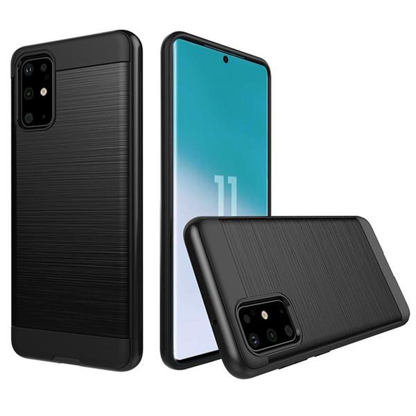 top popular Hybrid Armor Hard Case Cover For Samsung Galaxy A71 A51 A20s A01 S20 5G Ultra Plus moto g8 PLUS e5 play go Case 2020