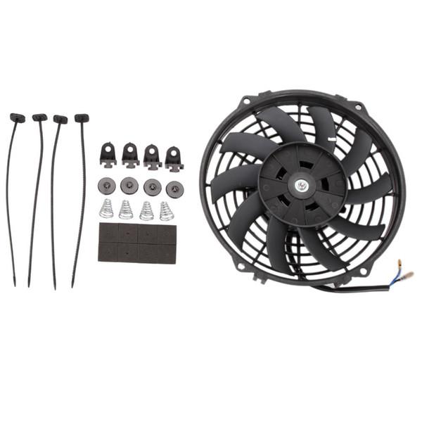 Kit di Montaggio Slim Line Cinghie di Raffreddamento Kit di Raffreddamento per radiatore Olio Kit di Montaggio per Ventola di Raffreddamento per radiatore Elettrico