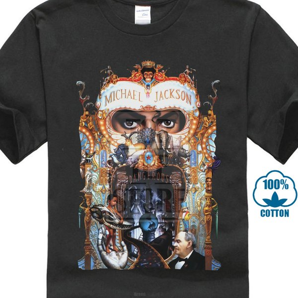 2657bdee28b Michael Jackson Dangerous T Shirt Black Tee Shirt Dangerous Black ...
