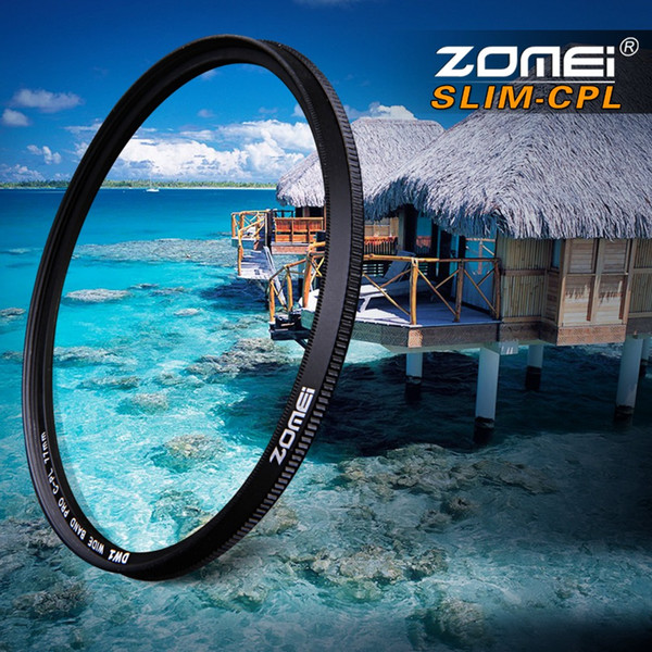 enses & Accessories Camera Filters ZOMEI Ultra Slim AGC Optical Glass PRO CPL Circular Polarizing Polarizer Camera Lens Filter 52 55 ... on Sale