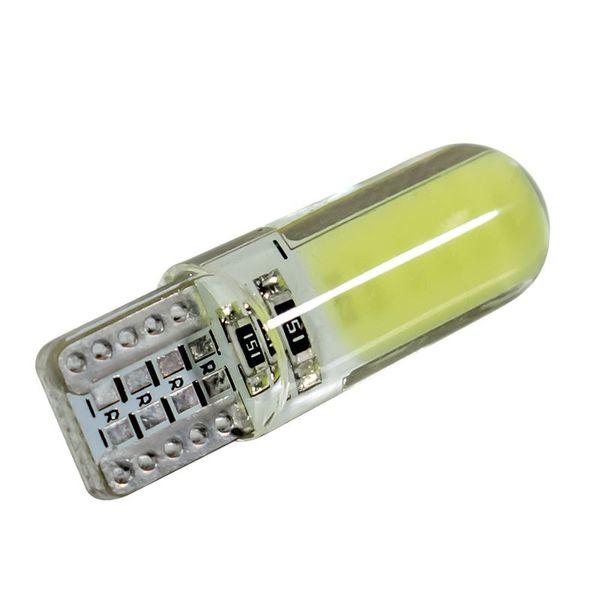 1 ШТ. Супер Яркий CAN-bus без ошибок T10 W5W 158 194 Светодиодная лампа белого цвета