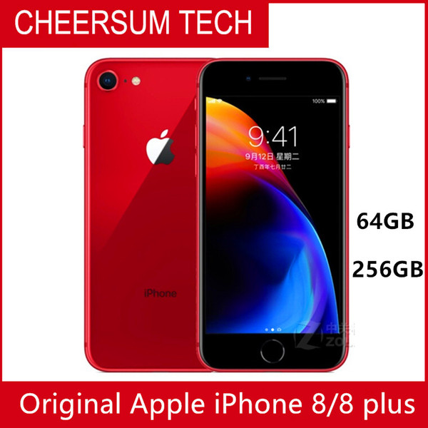 HOTSALE Débloqué Apple iPhone 8 Plus téléphones 4G LTE Cell 3 Go de RAM 64 / 256Go ROM 5.5' 12,0 MP Hexa-core téléphone portable
