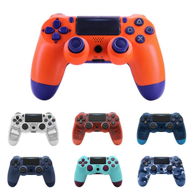 p4 game controller 2 generation 4.0 with indicator strip wireless Bluetooth p4 pro handle with new Retail package