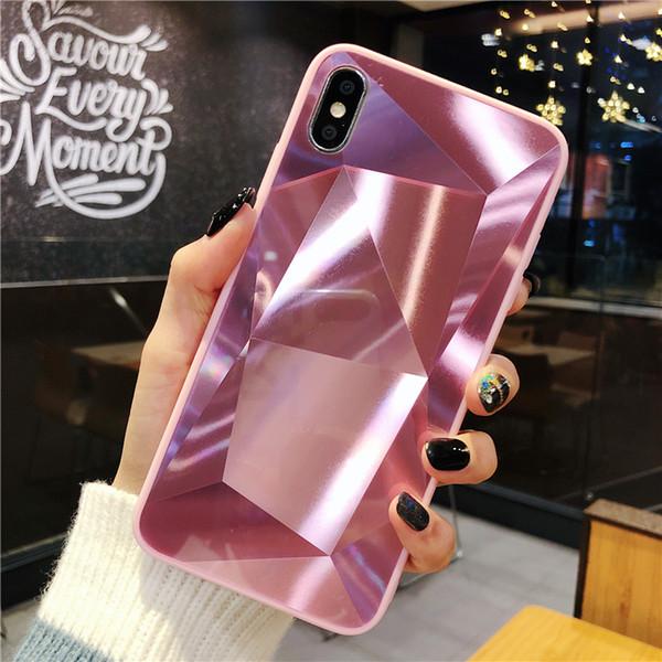 coque iphone 7 diamant miroir