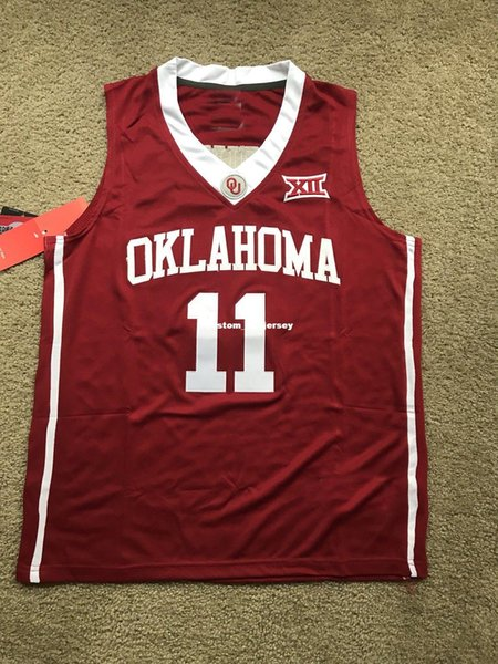 cheap for discount 2f77e e40f5 2019 Cheap Custom Trae Young Oklahoma Sooners NCAA Basketball Jersey Stitch  Customize Any Number Name MEN WOMEN YOUTH XS 5XL From Custom_nbajersey, ...