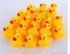 top popular Baby Bath Water Toy Floating Yellow Rubber Ducks Kids Toys Cute Swimming Duck Toy Shower Beach Play Set Drop shipping 2020