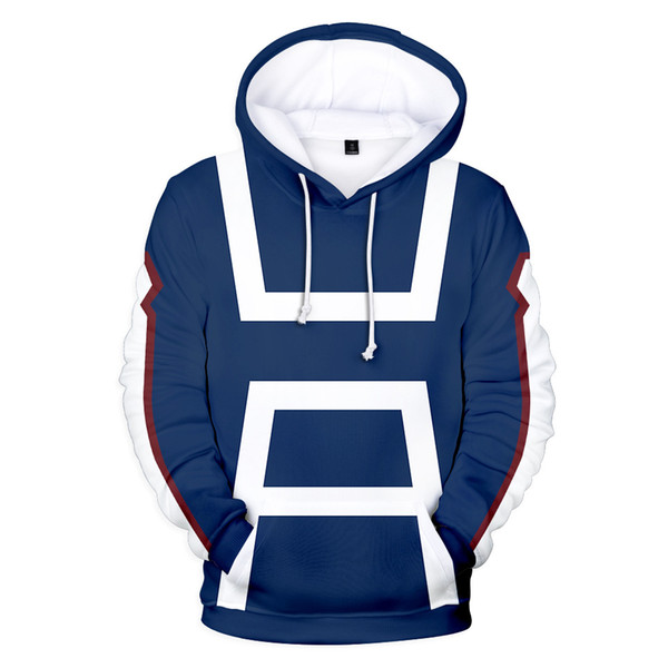 happylights / 3D My Hero Academia Jacke Mantel Frauen Männer Bakugou Todoroki Shoto Cosplay Kostüm Sweatshirt Mode Uniform Jacken Hoodies 4XL