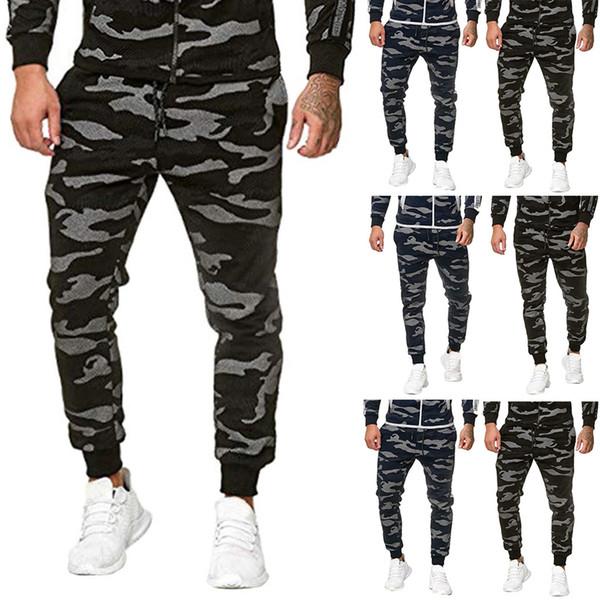 Moda Baskı Erkekler Uzun Pantolon Sonbahar Ve Kış Elbise Yeni Moda Casual Dikiş Ayaklar Günlük Spor Pantolon Ropa # C9 spodnie