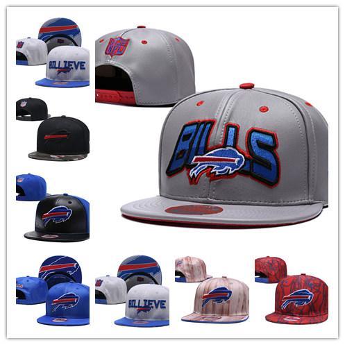 Nakış Faturaları Tarihi 3D Logo Baycik 9 FIFTY Snapback Ayarlanabilir Şapka Spor Kap Güneş Buffalo Amerikan futbol şapkaları