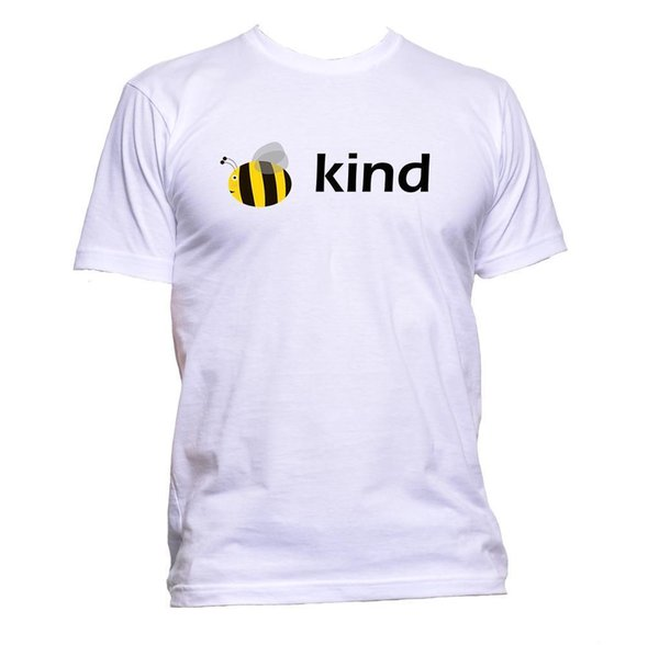 Be Kind Bee Animal Pet Earth Planet Vegan Vegetarian Survive World Cat T-Shirt Size Discout Hot New Tshirt Style Round Style tshirt