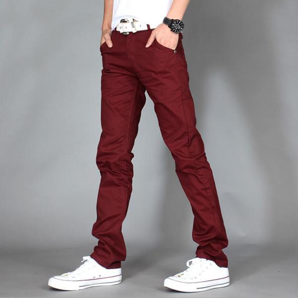 2019 Новая мода Мужские повседневные брюки высокого качества Марка Рабочие брюки мужская одежда Хлопок Формальные брюки мужские размер Pantalones хомбре