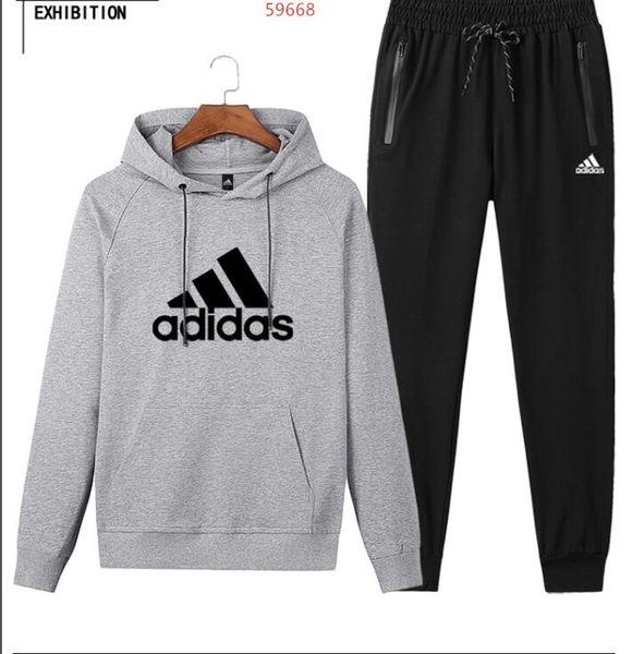 venta 2020addias conjunto Sweatsuit las mujeres chándal con capucha de los hombres pantalones de Ropa para Hombres jersey sudadera casual del deporte del tenis del juego de sudor del chándal