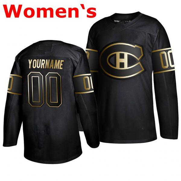 Womens Black 2019 Golden Edition