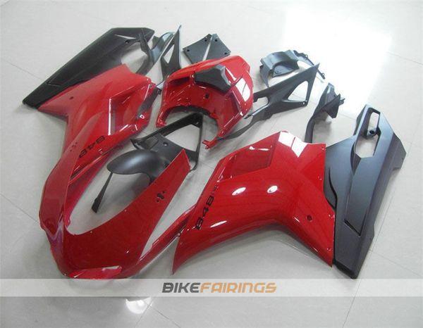 Red Black Matte