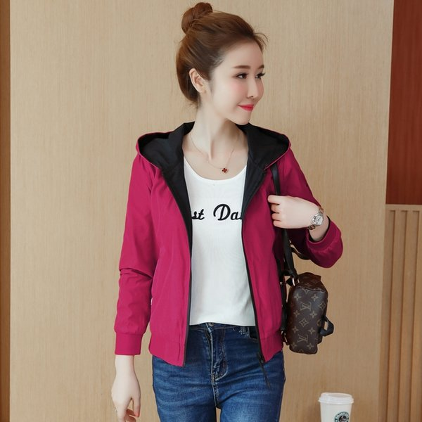 Coats and Jackets Women Slim Jacket Women's New Spring and Autumn Leisure Korean Version of Loose Jacket Baseball Suit