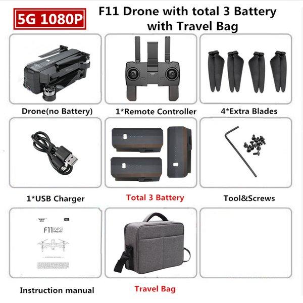 1080p 3b Travel Bag