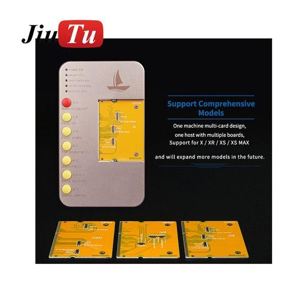 LCD Display Touchscreen Digitizer Tester Board Tool für iPhone X XS XR XS Max mit Ladegerät PCB Board JiuTu