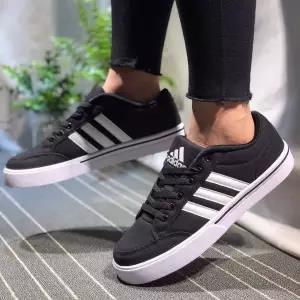 best selling Clover male 2019 spring and summer women's shoes NEO black and white low to help campus canvas shoes casual shoes