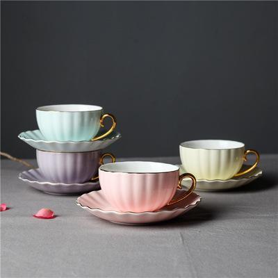 Tazza da caffè in ceramica Tazza piattino da caffè europeo Phnom Penh Set da tè inglese Tazza da tè per la casa