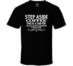 Tee shirt personnalisé de Baileys Irish Irish Alcohol
