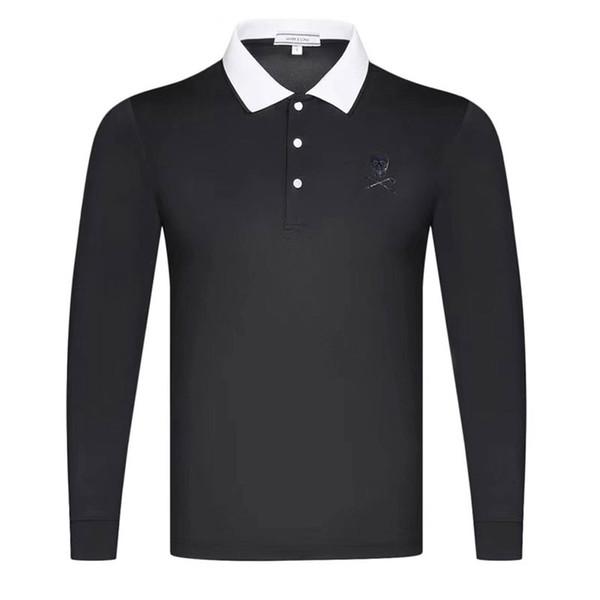 top popular New Dust_Proof Sports Shirt Latest Spring summer MAPK&LON Golf sports shirt Full Sleeves Golf clothes Anti-Pilling Golf T-Shirt 2019
