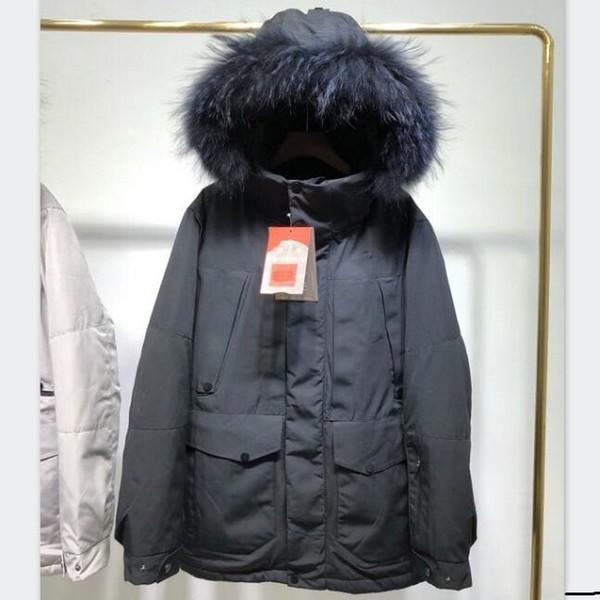 North Face Mens abajo abrigos esquimales Chaqueta para la chaqueta para hombre con el logotipo de Down capa de la manera Outdoorwear invierno Streetwear Clothings