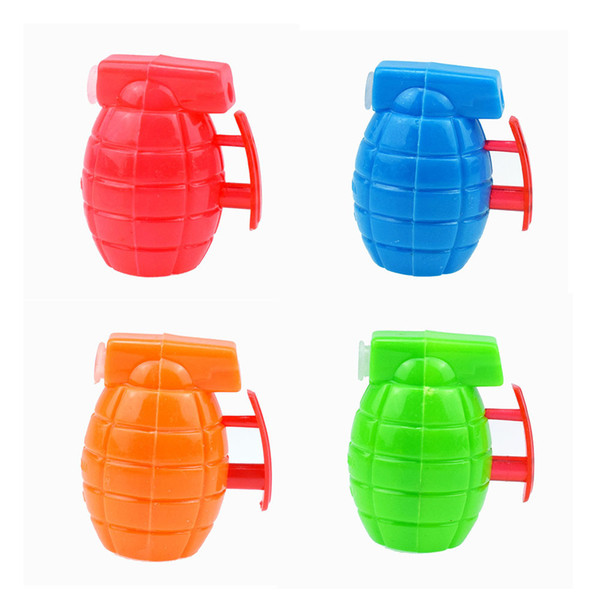 Miniature plastic hand grenade gun toy twisted egg toy gift shop toy gift