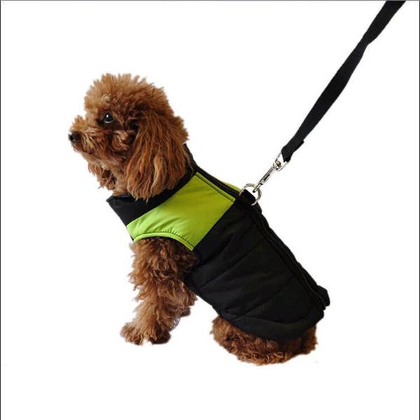 2018 New Puppy Small Medium Large Waterproof Pet Dog Cloth Winter Warm Padded Vest Jacket Coat