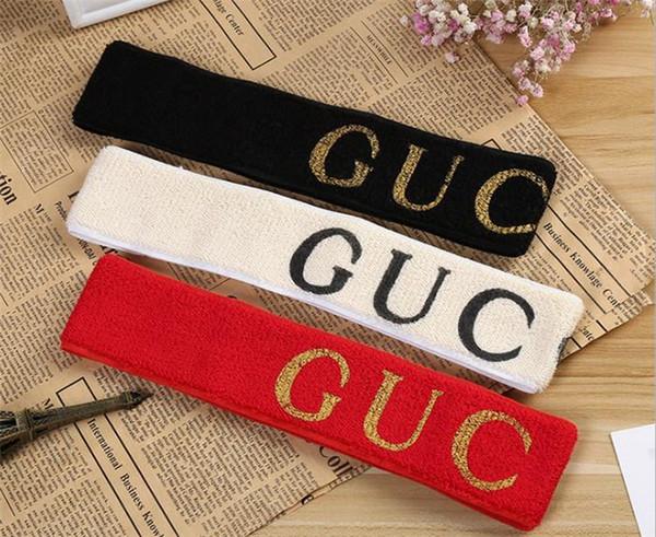 Designer elastisches Stirnband für Frauen und Männer Beste Qualität Marke grün und rot gestreiften Haarbänder Kopftuch für Kinder Headwraps Geschenke