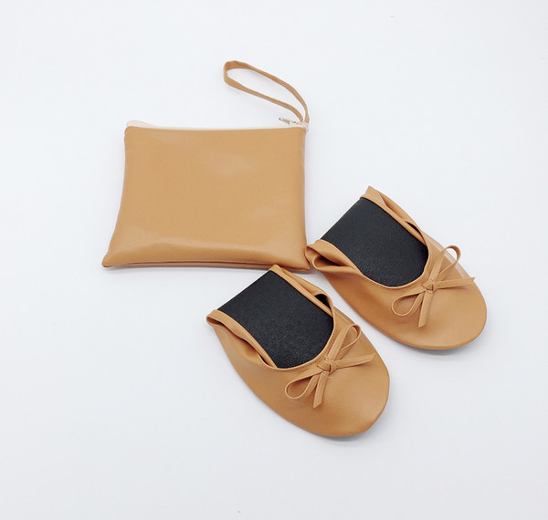 Nice Ballet Flats Style and Autumn,Summer,Spring Season rolling shoes