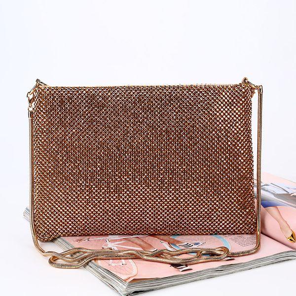 Sleeper #401 2019 FASHION Women New Evening Handbag Hand Made Chain Party Clutch Shoulder Cross Bag Luxury design Free Shipping
