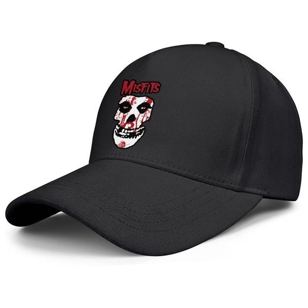 Custom snapback Men Women Baseball cap Misfits Wallpaper fitted baseball hats Rugged hats All Cotton