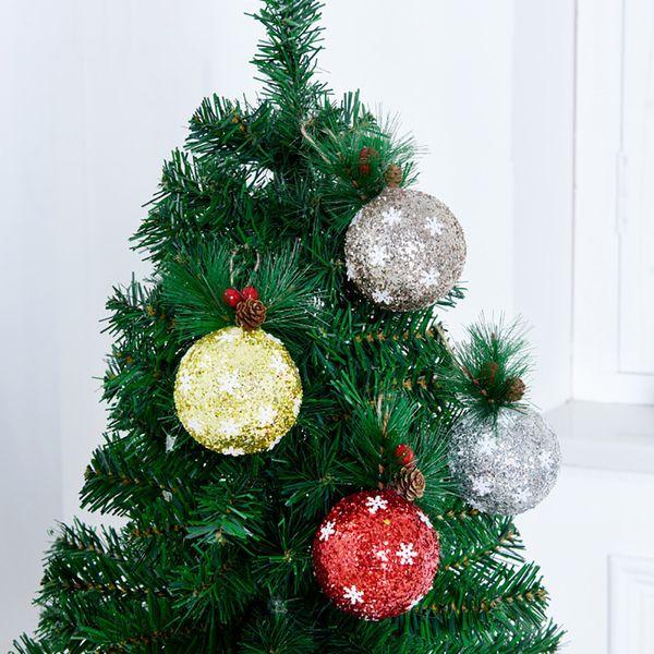 Christmas Tree Hanging Angel Bear Santa Bells Decoration Xmas Party Wedding Ornament Metal Pendants Christmas Gifts#25