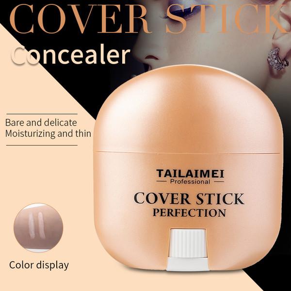 Excellente qualité femmes beauté imperméable à l'eau bonne couverture maquillage correcteur liquide