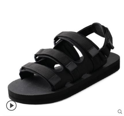 Nuova estate morbido sandali maschili scarpe da uomo sandali da spiaggia uomini di marca scarpe casual infradito per il tempo libero spiaggia uomo pantofole pantofole
