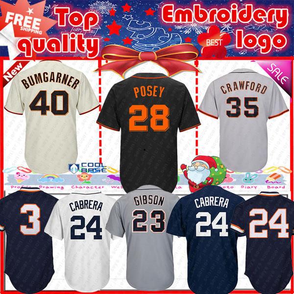 Detroit 24 Miguel Cabrera jersey Tigers 23 Kirk Gibson 24 Miguel Cabrera 3 Alan Trammell mens Baseball Jerseys