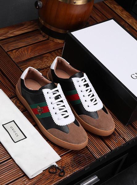2019un nuevo calzado de hombre casual de diseñador de lujo de edición limitada, calzado deportivo para hombre al aire libre casual de moda salvaje, yardas: 38-45
