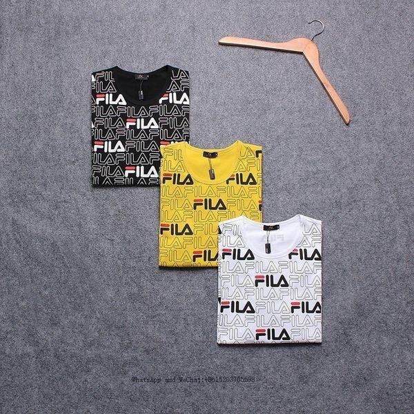 Bahar Moda Gelgit Yuvarlak Yaka Baskı erkek Giyim Kısa Kollu T-shirt Erkekler Için Saf Cotton0228