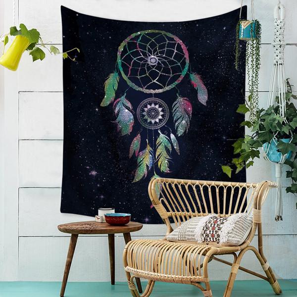 Name Family Arrest Monternet Tapestry Hanging Cloth Bohemian Yoga Boho Boho Decor Mandala Tapestry Shawl Dorm