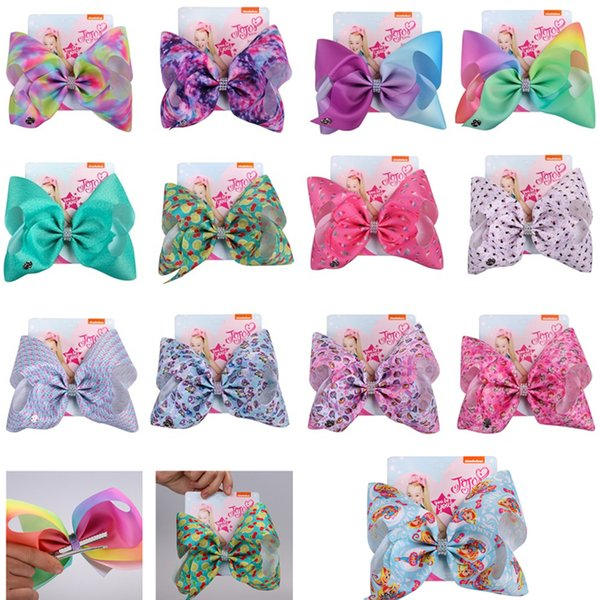 New Girls Bow Hairpin Festival Birthday Party Headdress Bow Hairpin Hair Clip Hair Accessories Party Favor 5005