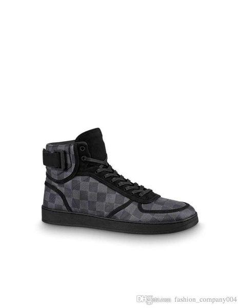 Botas Sapatilha Rivoli High-Top Sneakers Para Mens Designer Formadores MEN Marca Botas de Caminhada Casuais com Caixa